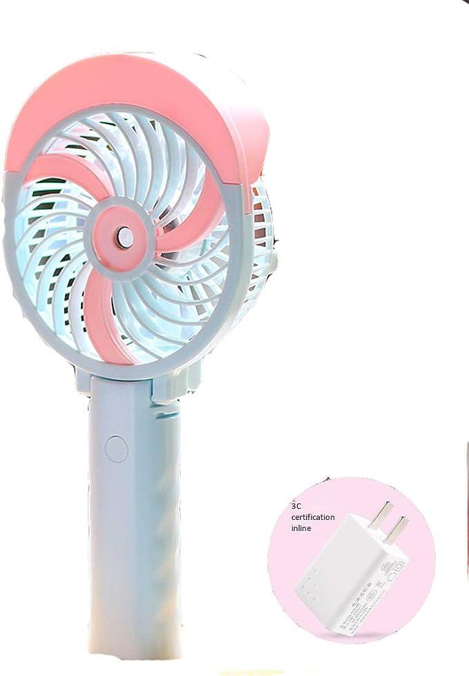 Gmjay Mini Ventilador Portátil de Mano Ventiladores Portátiles de ...