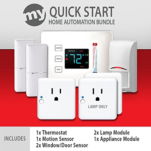 Quick-Start-Home-Automation-Bundle-for-Samsung-SmartThings-1x-Thermostat-1x-Motion-2x-WindowDoor-Sensor-3x-Outlet-Plug-Modules