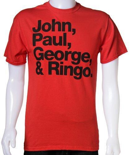 The Beatles - John, Paul, George & Ringo, XX-Large