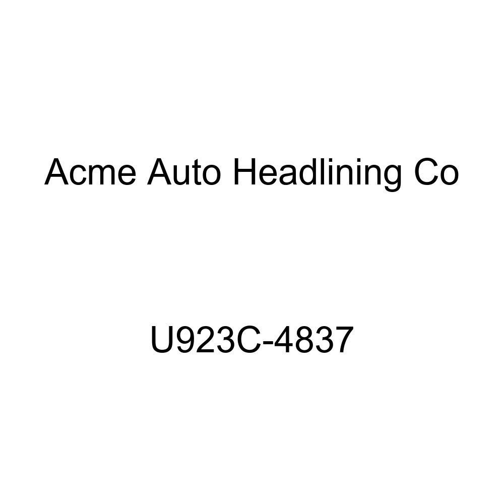 Acme U923C-4837 Front and Rear Medium Blue Vinyl Bench Seat Upholstery