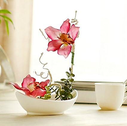 Llpxcc Flores Artificiales Creativo Casa Floral Mesa De