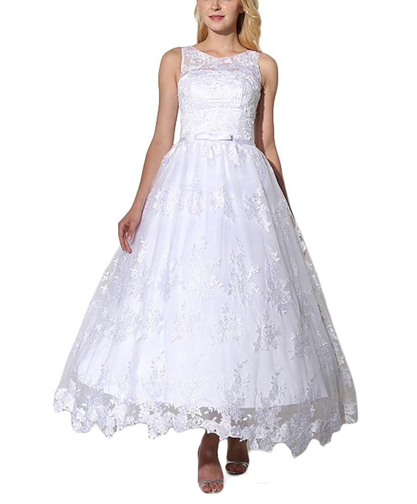 Drehouse Women's Vintage 1950s Short Lace Wedding Dresses Tutu Bridal Gowns At Amazon Clothing Store: Vintage Wedding Dresses Short Tutu At Websimilar.org