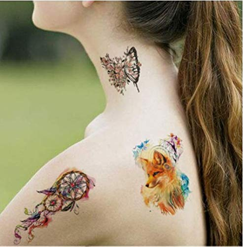 Transferencia de agua pequeño animal fresco impermeable tatuaje ...
