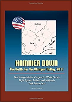 Hammer Down: The Battle for the Watapur Valley, 2011 - War in Afghanistan Vanguard of Valor Series, Fight Against Taliban and al-Qaeda, Task Force Cacti