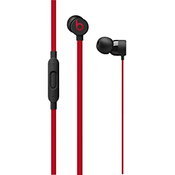 Beats mrtu2zm/A In-Ear Auriculares + C108 The Decade Collection, 3.5 mm Plug Defiant Negro/Red: Apple: Amazon.es: Electrónica