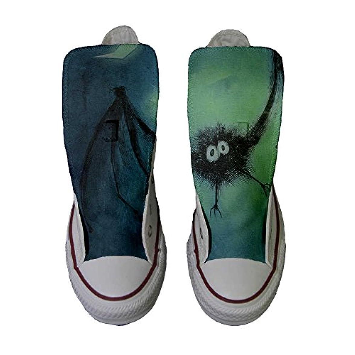 Converse Personalizzate All Star Sneaker Unisex prodotto Artigianale Pipistrello - Tg36