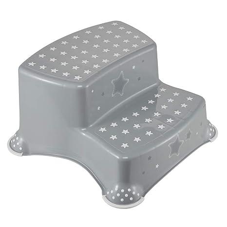 keeeper 10031 igor Stars Tabouret /à 2 niveaux avec fonction antid/érapante Gris