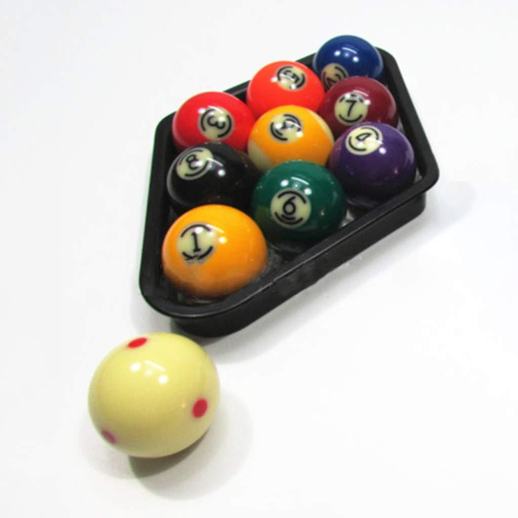 CARRYKT Forme de Losange en Plastique Boules de Billard am/éricain Organiser des /étag/ères Solides Snooker Game Club de Stockage Accessoire