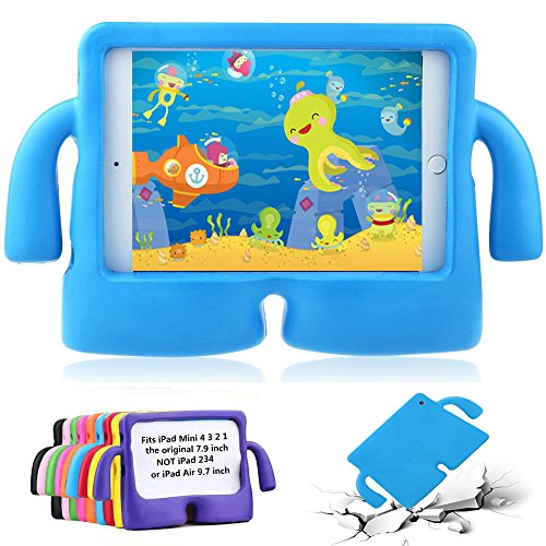 iPad Mini 2 Kids Case - GOSE Apple iPad Mini Case for Child Carrying, Shock Proof, Light Weight, Fit for iPad Mini 2 3 4, 7.9 Inch - NOT for ipad 2 3 4 or ipad Air