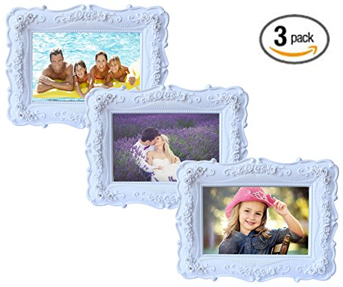 Olivery Victorian Inspired Flower Photo Frame - 4