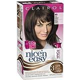 Clairol Nice 'n Easy Foam Hair Color 4G Dark Golden Brown 1 Kit