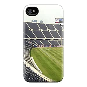 QrRoQ70kMAoE Anne Marie Harrison Chicago Bears Stadium Feeling Iphone 4/4s On Your Style Birthday Gift Cover Case