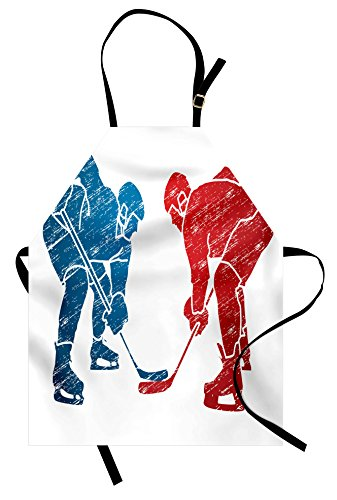 Olympic Costume Ideas - Lunarable Sport Apron, Hockey Players Hobby