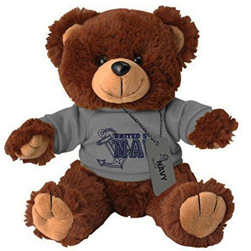 US Navy Teddy Plush Teddy Bear with Dog Tag (Honor Teddy Bear)