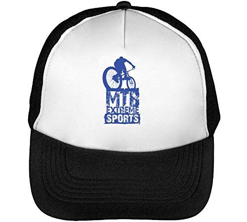 In Forest Men's Riding MTB Bike Trucker Snapback Mountain Cap Downhill Phrases Black White Bike Cool Hat Baseball Words Extreme wIqC4B