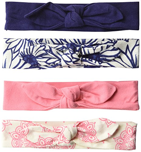 Touched-by-Nature-Baby-Girls-4-Pack-Organic-Cotton-Headbands-0-24-Months