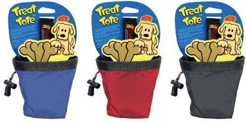 Canine Hardware Treat Tote Small, 1 Cup (Colors Vary) - Dog Treat Pouch
