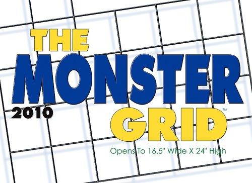 Monster Grid 2010 Wall Calendar