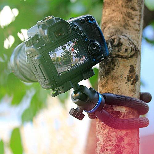 Remaxm - Trípode Flexible para cámara réflex Digital con Soporte ...