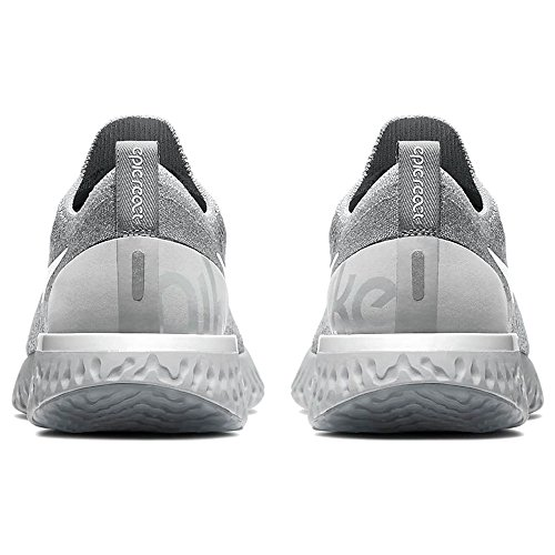002 Grey Grey Compétition Running Chaussures de Epic Cool Multicolore NIKE React WMNS Flyknit Platinum Pure Femme Wolf White gwAUgqTP