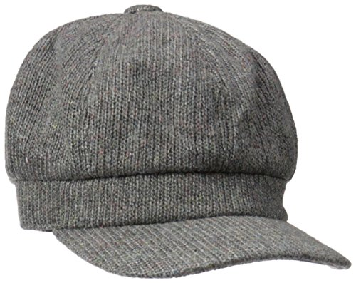 D&Y Women's Solid Cabbie Hat with Bow