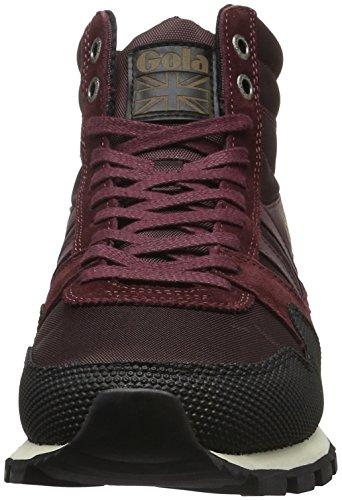 Gola Rosso Black Sneaker Alte II Uomo Ridgerunner Burgundy High HwqvxZfH
