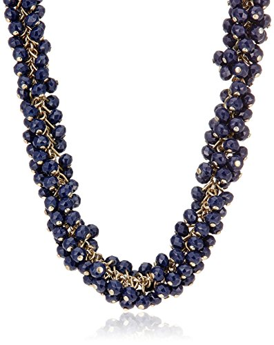 Accessorize Chain Necklace for Women (Blue)(MN-18244640001)