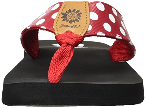 Zadie Box Red Flip Yellow Flop Women's qEnRqgz