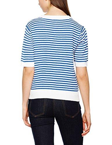 Pepa loves Stripes Sweater Blue, Jersey para Mujer Azul (Blue)