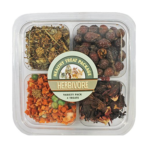 Herbivore Treat Variety Pack - for Guinea Pigs, Rabbits, Chinchillas, Squirrels, Hamsters, Prairie Dogs, Degus