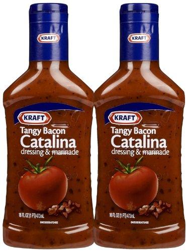 Kraft Tangy Tomato Bacon Catalina Dressing, 16 oz, 2 pk (Kraft Catalina Dressing)