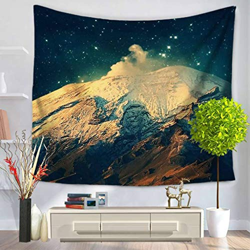 Price comparison product image JINGJING Galaxy Tapestry Nebula Colorful Psychedelic Cosmic Pattern Bedroom Living Room Dorm Room Wall Decoration, E, 7590cm