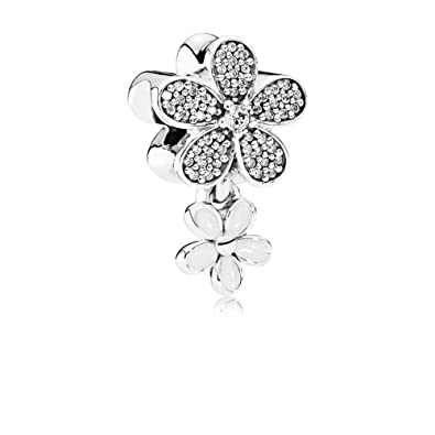 ea6754de1 Image Unavailable. Image not available for. Color: Pandora Women's Dazzling  Daisy Duo Charm ...