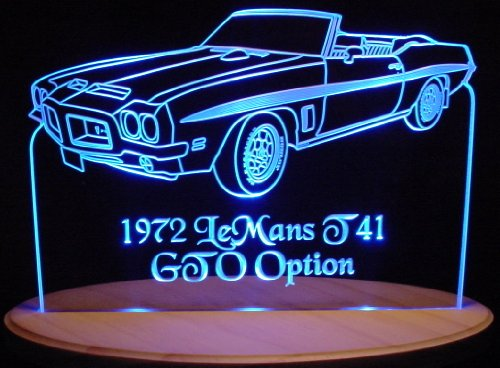 ValleyDesignsND 1972 Lemans Convertible Acrylic Lighted Edge Lit 11-13