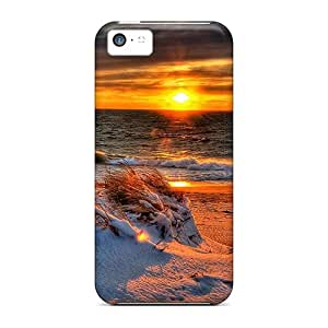 Snowy Shore Fashionable phone carrying covers phone Hard Cases With Fashion Design Nice Iphone5c iphone 5c