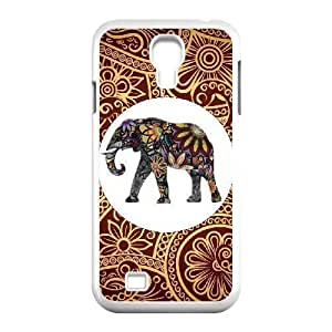 Custom Colorful Case for SamSung Galaxy S4 I9500, Indian Elephant Cover Case - HL-R644574