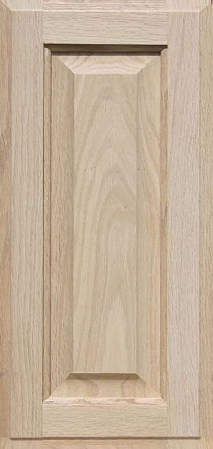 Unfinished Maple Cabinet Door 29H x 9W Square with Raised Panel by Kendor