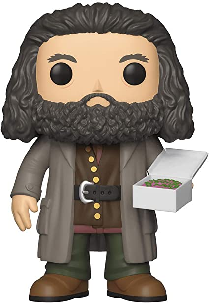 "#78 New Rubeus Hagrid 6/"" Vinyl Figure Holding Cake Harry Potter Collectable Pop"