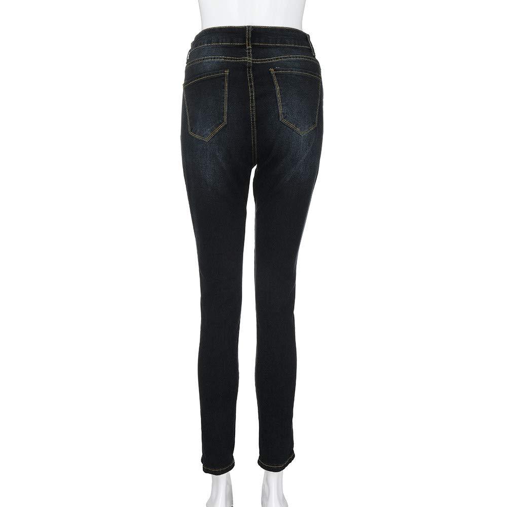 Pantalones Vaqueros Elasticos Pantalones Mujer Tallas Grandes Rawdah Vaqueros Mujer Tallas Grandes Pantalones Vaqueros Ajustados De Cintura Alta Para Mujer Vaqueros