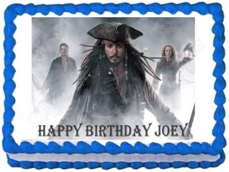 Groovy Amazon Com Kopykake Pirates Of The Caribbean Jack Sparrow Party Funny Birthday Cards Online Aeocydamsfinfo