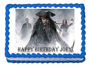 Jack Sparrow Cake Topper