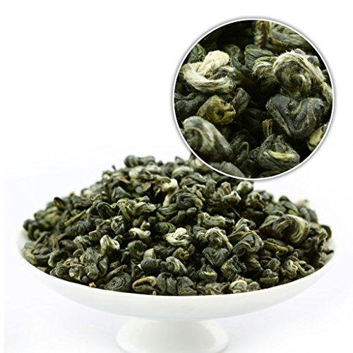 GOARTEA 250g (8.8 Oz) Supreme Organic SuZhou Bi Luo Chun BiLuoChun Spring Leaf Snail Chinese Green Tea (Snail) shape
