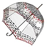 totes Signature Bubble Umbrella - Manual Open, One Size - Fish
