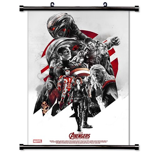 (Avengers Age of Ultron Movie Fabric Wall Scroll Poster (32 x 48) Inches)