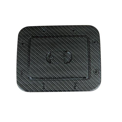(EAG 99-06 Nissan Sentra Gas Door Cover Black Carbon Fiber Look ABS (66-2700CF))