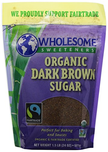 Wholesome Dark Brown Sugar, 24 oz (Dark Sugar)