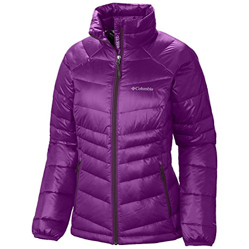 Columbia Women's Gold 650 TurboDown RDL Down Jacket XS, Bright Plum