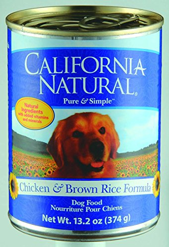 California Natural Chicken & Brown Rice Adult Canned Dog Food - 12x13.2 oz