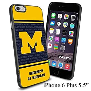 NCAA THE UNIVERSITY OF MICHIGAN Cool Case Cover For HTC One M8 Smartphone Collector iphone PC Hard Case Black