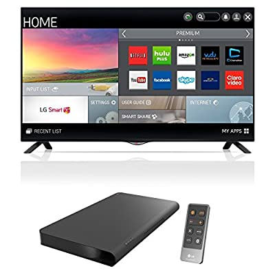 LG Electronics 49UB8200 49-Inch 4K Ultra HD 60Hz Smart LED TV Bundle with LG LAP240 Soundplate 100W Slim 4.1 Surround Speaker System